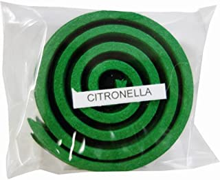 お香/うずまき香 CITRONELLA シトロネラ 直径5cm×5巻セット [並行輸入品]