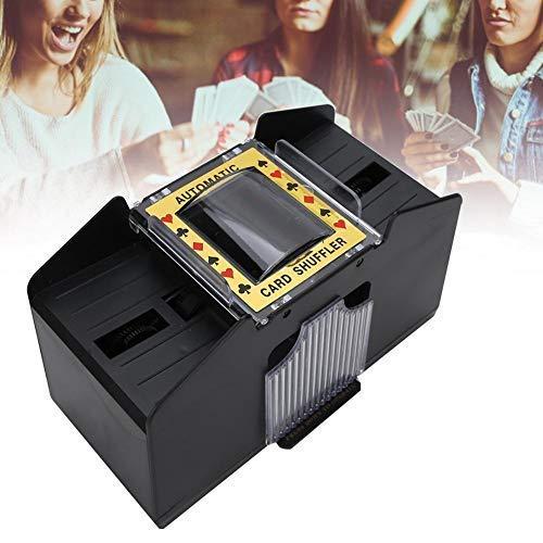 Durable Automatic Card Shuffler, Practical Reliable Poker Card Shuffler, Convenient Home for Elderly Entertainment Outdoor