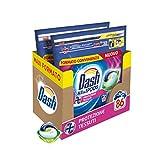 Dash Pods Allin1 - Detergente para lavadora en cápsulas de protección de tejidos, tamaño maxi de 43 x 2 unidades, 86 lavados