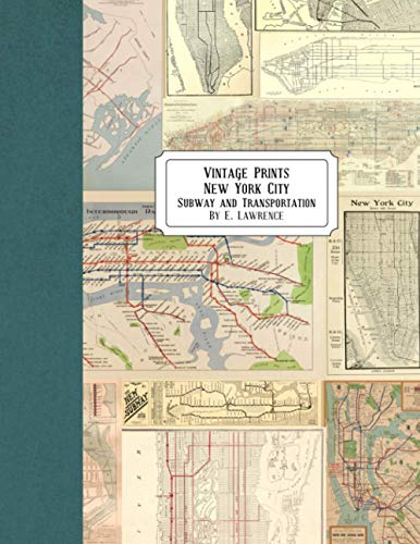 Vintage Prints: New York City: Subway and Transportation