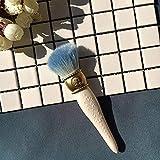TYWZJ Pincel de Maquillaje, maquiagem Pro Pincel maquiagem Maquillaje Pinceles cosméticos en Polvo Base Sombra de Ojos Pincel de Labios Herramienta pinceis de maquiagem-Azul-a