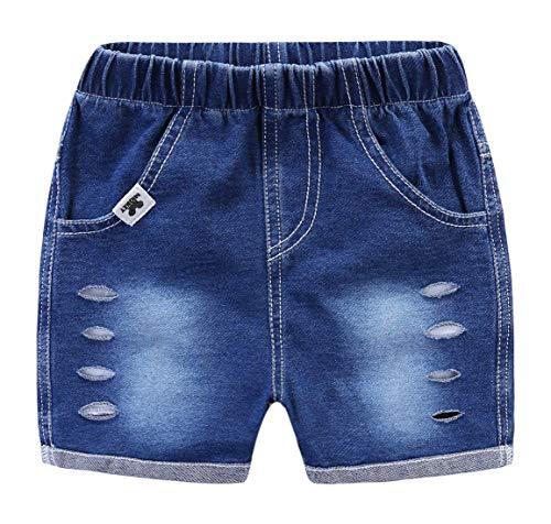Happy Cherry Baby Kinderen Korte Broeken Zomer Jeans Shorts Jonge Meisjes Elastische Taille Cowboy Korte Broeken