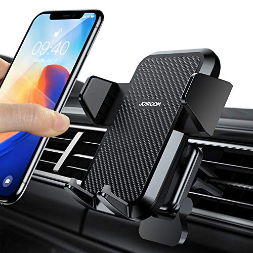Universal Cell Phone Holder for Car, Joyroom [2020 Upgrade] Real Stable Car Phone Mount Holder, 360 Rotation Cell Phone Stand for Car, Fit for iPhone SE 11 X XS XR 8 Plus 7 etc. and All Android Phones