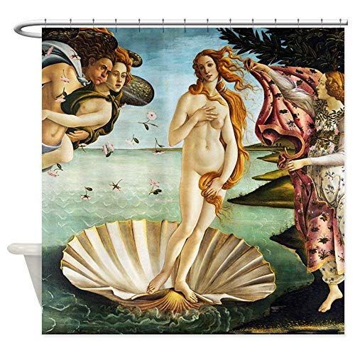Botticelli Birth Venus - Decorative Fabric Shower Curtain (60