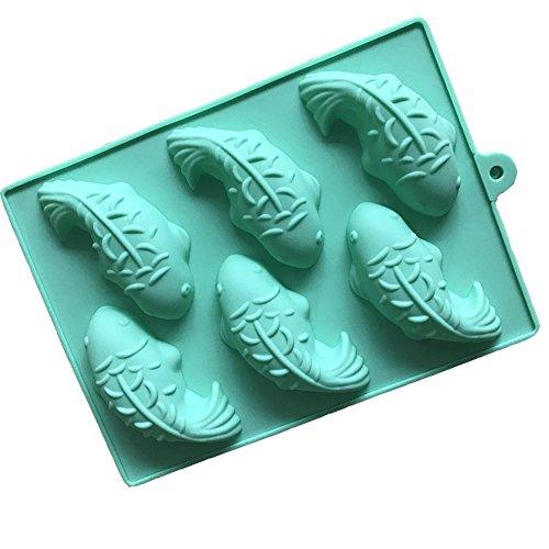 6 Fische Silikon Kuchen Schimmel Fondant Kuchen Dekoration Backen Eis Fach Schokolade Formen Für Kinder Kinder