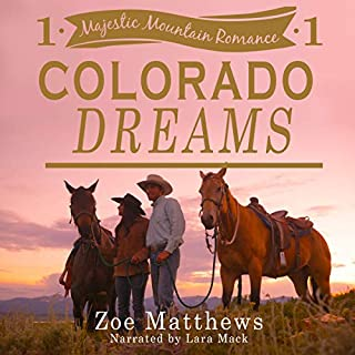 Colorado Dreams audiobook cover art