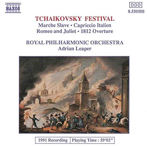 Tchaikovsky Festival - Marche Slave, Capriccio Italien, etc.