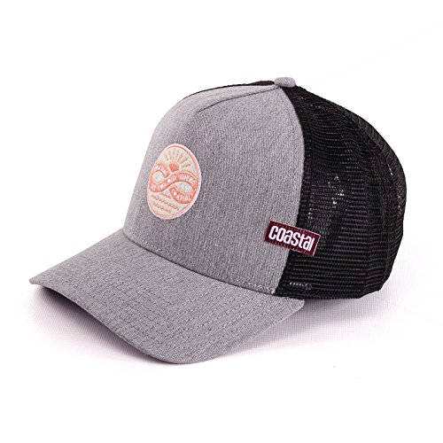 Coastal Trucker Cap See You Out There Gray - One-Size