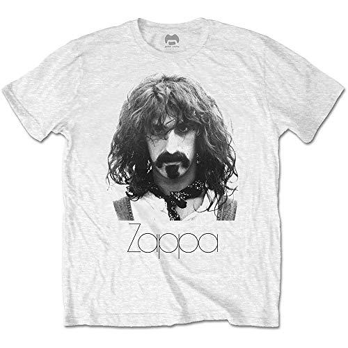 T-Shirt (Unisex-Xl) Thin Logo Portrait (Bianco)