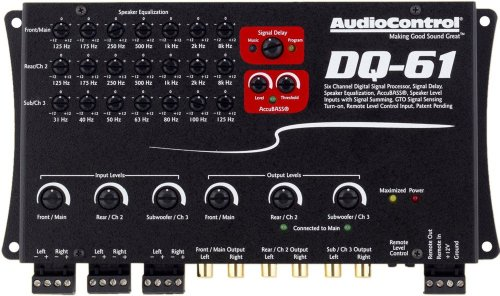 Audio Control DQ-61 OEM Sound Processor by Gova Deals. Compare B00G9FNZ70 related items.