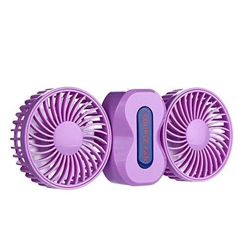 Carica USB Mini ventilatore piccolo USB ricaricabile Ventilatori desktop portatili Portare e tenere il ventilatore silenzioso Ventilatore a vento dormitorio grande (2 colori optional) (13.5 * 9.5cm) P