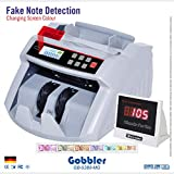 GOBBLER GB5388 Note Counting Machine with Fake Note Detection with LCD Display
