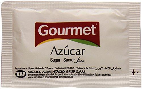 Gourmet Azúcar Blanco Sobres, 1200 x 8g