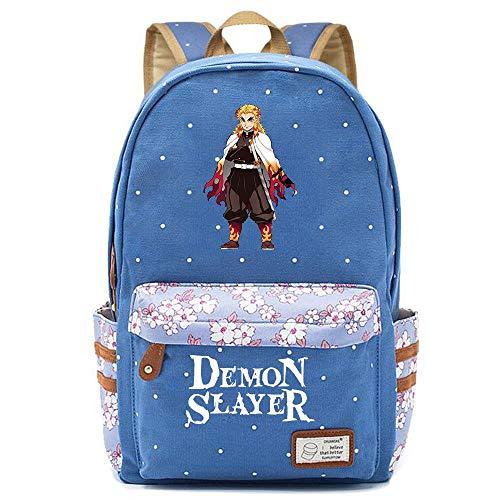 WWAN-YU Zaino Floreale Per Uomo E Donna Con Zainetto Per Studenti Anime Devil'S Bladeanime Cartoon Zaino Zaini Per Pc Portatili Unisex Cartelle Per La Scuola,42X30X14.5CM,A37