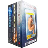 Takeshi Kovacs Novels Series 3 Books Collection Set by Richard Morgan (Altered Carbon, Broken Angels & Woken Furies) NETFLIX