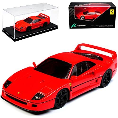 Kyosho Ferrari F40 Coupe Rot 1987 -1992 1/43 Modell Auto