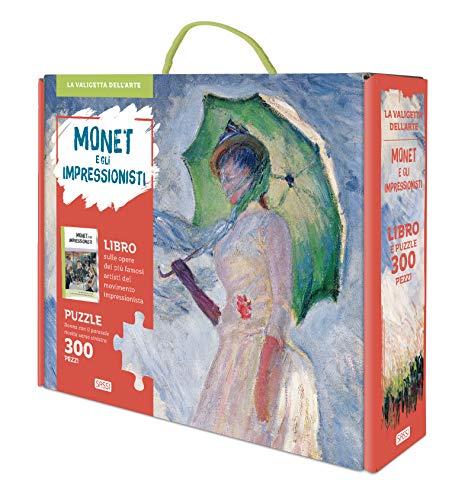 Monet e gli impressionisti. La valigetta dell'arte. Ediz. a colori. Con puzzle