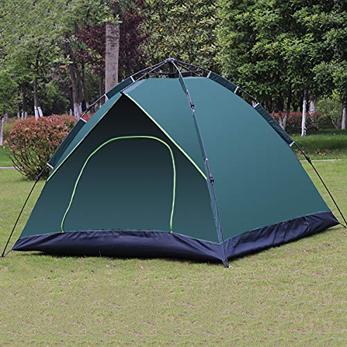 Camping Tents, Shelter-Perfect for Camping,Backpacking and Thru-Hikes, No Need to Build Quick-Open Automatic Tent,Green Tent
