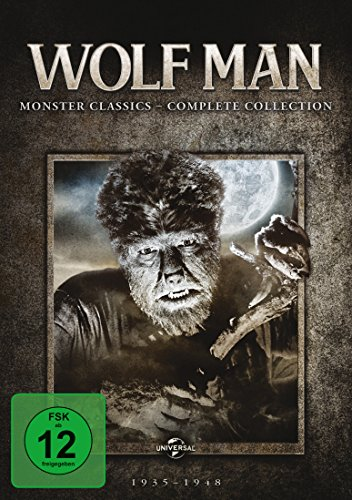 The Wolf Man: Monster Classics - Complete Collection (Clone 2) [7 DVDs]
