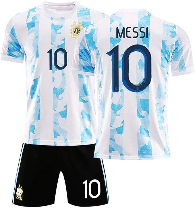 LCHENX-Bambini Argentina Calcio Lionel Messi # 10 Tifosi Set ...