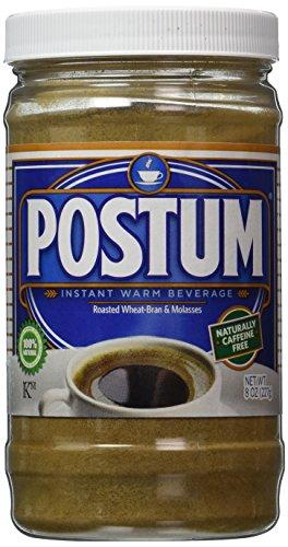 Postum Wheat Bran & Molasses Coffee Alternative (8oz) | Caffeine Free Instant Coffee Substitute | Natural Blend, Rich, Tasty, Healthy, Dietary Beverage for Breakfast, Gourmet & Pantry Pack