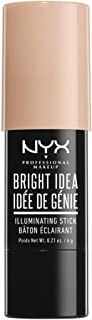 NYX PROFESSIONAL MAKEUP Bright Idea Illuminating Stick, Chardonnay Shimmer, 0.21 Ounce