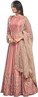 Designer Collection Embroidered Zari Hand work Indian Anarkali Salwar Suit Ethnic wear women gown Ceremony Muslim 761 4