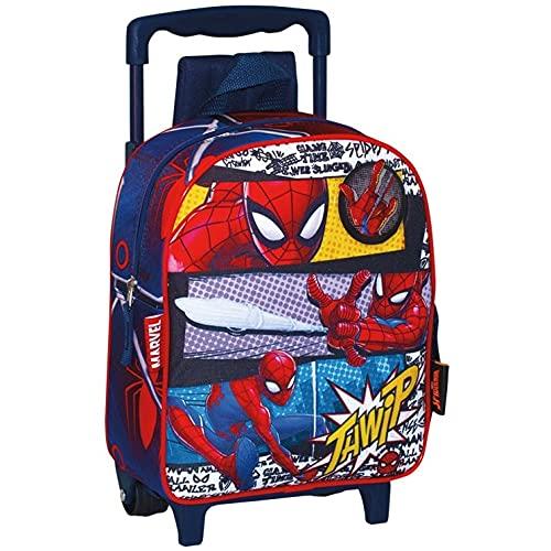 PERONA BAGS Mochila con ruedas de Spiderman 'Pop'