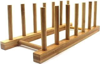 Sykasm Aparador de Madera de bambú para Cocina para Platos Tazas Cuencos
