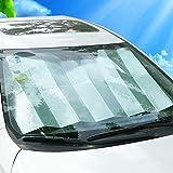 Kaxich Auto Sonnenschutz, Auto Frontscheibe Windschutzscheibe Sonnenblende Autoscheiben UV-Schutz...