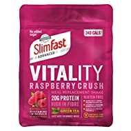 Discover a holistic way to lose weight, helping you feel great on the inside and out The unique SlimFast Advanced Vitality shake recipe is made with selected ingredients to support your metabolism and reduce tiredness and fatigue Now gluten free, wit...