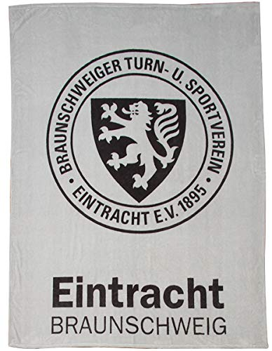 Eintracht Braunschweig Decke, Kuscheldecke Eintracht in 150 x 200 cm