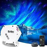 Galaxy Star Night Light Projector 2.0 Blue Star, Northern Light Aurora...