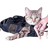 Yuehuam Bolsa de Aseo para Mascotas Gato Bolsa de Transporte para Gatos Bolsa de Sujeción con Bozal Libre