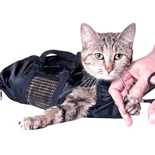 Yuehuam Haustier Katze Pflegetasche Katzentragetasche Rückhaltetasche mit Freier Schnauze