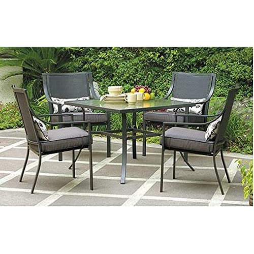 Gramercy Home 5 Piece Patio Dining Table Set - Clearance Patio Dining Sets: Amazon.com