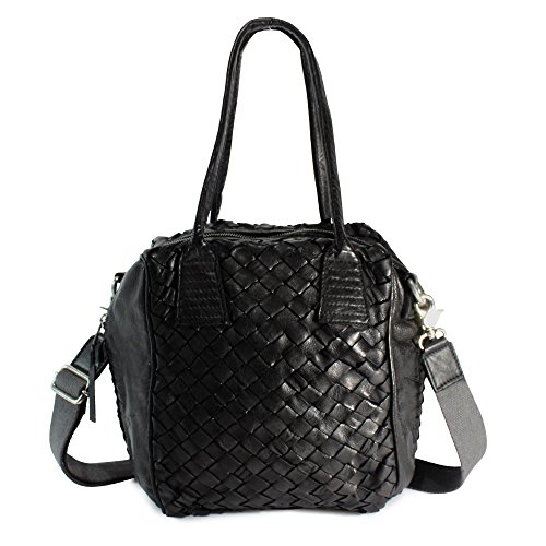 Tyoulip Sisters Handtasche Leder MAXIMUM MIX UVP 249,-€ sophistic black