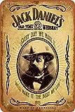 Jack Daniels Wand-Metall-Poster, Retro-Schild, Blechschild,