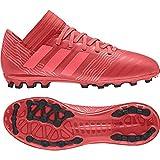 Adidas Nemeziz 17.3 AG J, Botas de fútbol Unisex niño, Naranja (Correa/Rojent/Negbas 000), 35.5 EU