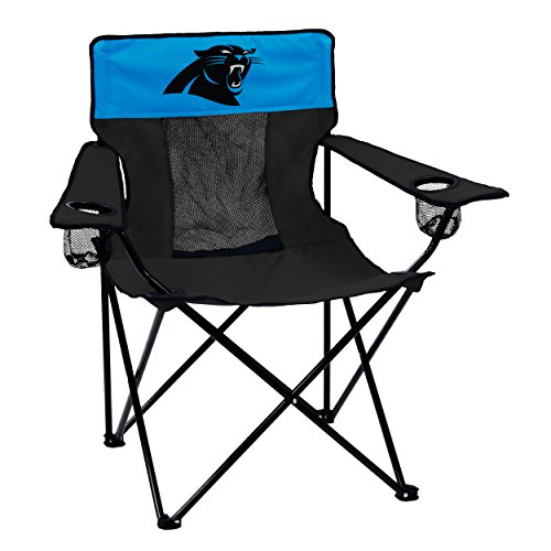 Logo Brands Officially Licensed NFL Carolina Panthers Unisex Elite Chair, One Size, Team Color