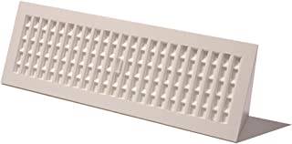 Decor Grates PL15BB-WH Floor Register, 15-Inch, White