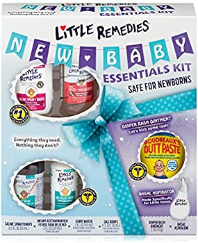 6-Pieces Little Remedies New Baby Essentials Kit