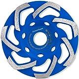 Diment Power Disco Desbaste Diamante 125 x 22,23 mm. Muela para amoladoras angulares.para ...
