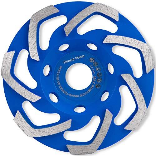 Diment Power Disco Desbaste Diamante 125 x 22,23 mm. Muela