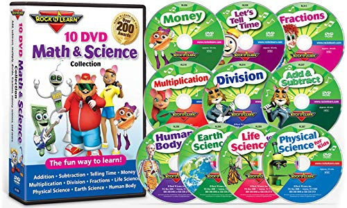 10 DVD Math & Science Collection...