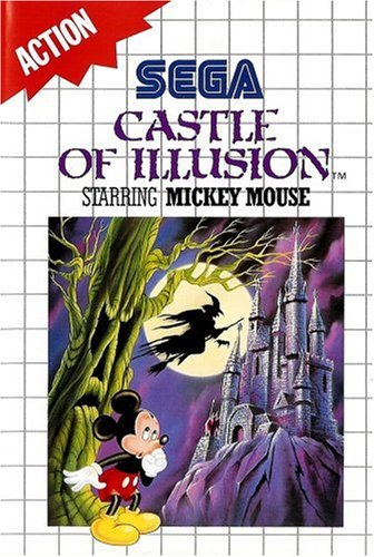 Castle of Illusion Starring Mickey Mouse (Master System) oA gebr.