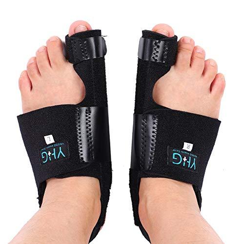 Bunion Korrector und Bunion Relief Kit, Gebogene Zehen Begradigen Hallux Valgus Neu Ausrichten, um die Fußgesundheit zu Verbessern, Bunion Splint Toe Separator Toe Spacer Glätteisenstütze für Bunion