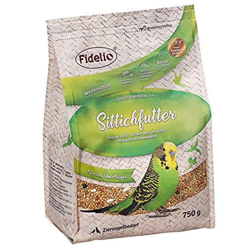 Fidelio Sittichfutter, 5er Pack (5 x 750 g)