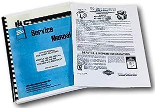 Cub Cadet 582 Garden Tractor Briggs Stratton 16Hp Engine 401417 Service Manual