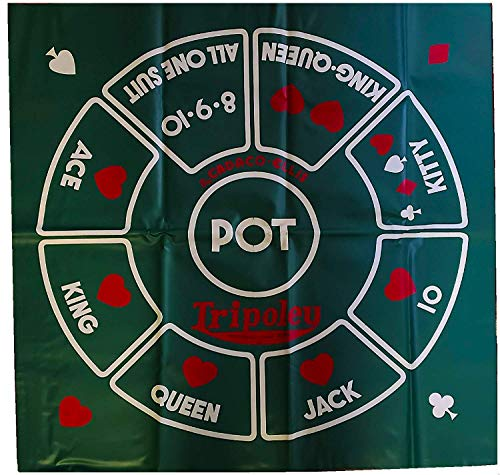 Cadaco Tripoley 1962 Vinyl Game Mat